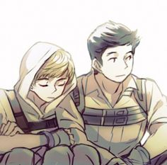 Image de fanart, newt, and the maze runner