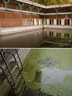 The abandoned Kings Meadow swimming pool in Reading opened in 1903 as the Ladies Swimming Bath.  It is believed to be the oldest surviving Edwardian outdoor municipal pool, and was constructed in response to a men-only pool – the largest in southern England when it was built in 1879.