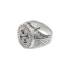 NOVICA Sterling Silver Signet Ring for Women ($66) ❤ liked on Polyvore featuring jewelry, rings, signet, sterling silver, engraved rings, engraved signet rings, novica, sterling silver jewellery and engraved sterling silver rings