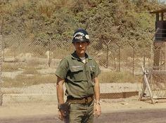 Ray Norton on gate guard duty at the deep water piers at Danang., mack payne, vietnam veteran news