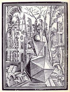 Geometria et Perspectiva - Lorenz Stöer, 1567 d, via Flickr.