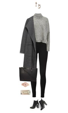 """Too strong so wear black !"" by azzra on Polyvore featuring Designers Remix, Zara, Dorothy Perkins, Kate Spade, Nixon, Casetify, SWEET MANGO, women's clothing, women's fashion and women"