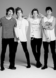 5 seconds of summer photoshoot 2014