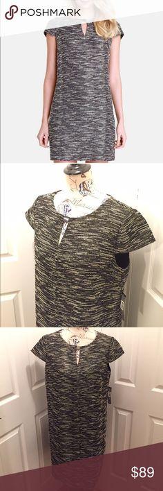 Tahari Dress. ⛔️LAST CHANCE⛔️ Beautiful black & Ivory Dress. Tahari Dresses