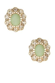 Crystal Petals Earrings by Olivia Welles on @HauteLook