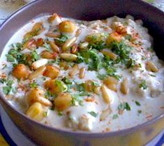 Fattet Hummus (Mid-Eastern Savory Chickpea Bread Pudding)