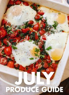 Learn what to do with July fruits and vegetables! Find recipes, preparation tips and more. cookieandkate.com