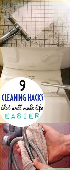 9 Cleaning Hacks to