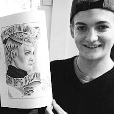 filmeditors:  I just don't want Jack Gleeson to leave! He's my favorite person, one of my favorite people in the whole cast. I can't even believe he's leaving. It upsets me too much. Maybe I'll never see him again! No, I will see him again, of course. Jack Attack. I'll see him. I'll invite him to a concert. How can he refuse? His onscreen girlfriend? He has to! [Laughs.] -Sophie Turner [x]