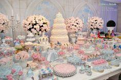 Inspirações párrafo Festa Infantil Cinderela