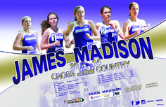 2014 JMU cross country schedule poster! Click to download!