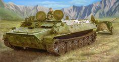 Soviet MT-LB (Medium Tactical) Multi-Purpose Tracked Vehicle 1/35 Trumpeter