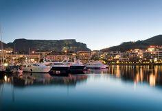 Waterfront é onde estão os hotéis e restaurantes mais luxuosos do Cabo