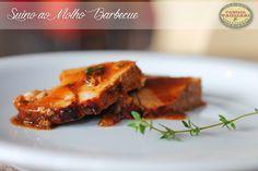 Suíno ao Molho Barbecue www.familiatagliari.com.br www.facebook.com/familiatagliari