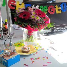 #Geburtstagskinder werden bei uns gebührend gefeiert. :)