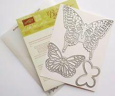 Stampin Up Butterflies Sizzix Big Shot Thinlits Dies Card Making Scrapbook #15B