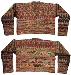 blouse decorated with embroidery Tribal Community, Filipiniana, Mindanao, Reference Images, Pinoy, Filipino, Traditional Dresses, Colonial, Philippines
