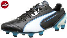 Puma King SL FG, Herren Fußballschuhe, Schwarz (black-white-fluo blue 07), 40 EU (6.5 Herren UK) - Puma schuhe (*Partner-Link)