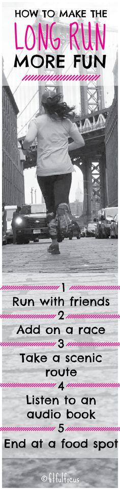 How To Make The Long Run More Fun http://fitfulfocus.com/how-to-make-the-long-run-more-fun/How?utm_campaign=coschedule&utm_source=pinterest&utm_medium=Fitful%20Focus&utm_content=How%20To%20Make%20The%20Long%20Run%20More%20Fun To Make The Long Run More Fun | Wild Workout Wednesday | Marathon Training | Running Tips | Manhattan Bridge