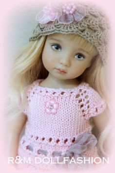 R-M-DOLLFASHION-PASTEL-LINE-OOAK-outfit-for-Effner-Little-Darling-13-doll