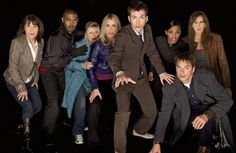 The Tenth Doctor and his companions.  Best of 'Doctor Who' 50th Anniversary Poll: 10 Favorite Companions