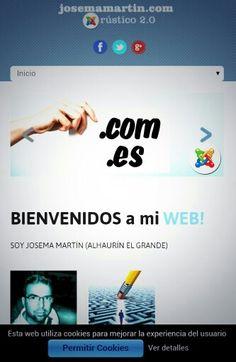 Estoy, quiero estar! Obligado a estar! Go!!! www.josemamartin.com