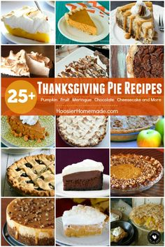 Thanksgiving Pie Rec