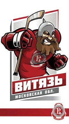 100%™ KHL Podolsk Vityaz Nhl Logos, Hockey Logos, Sports Logos, Sports Teams, Kontinental Hockey League, Hockey World, Ice Hockey, Art Logo, Graffiti Art