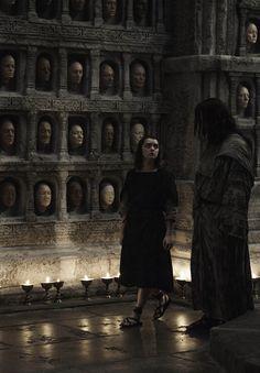 Arya & Jaqen - The Door Season 6 Episode 5
