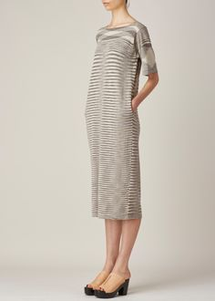 Lauren Manoogian Space Tall T Dress (Pimienta / Natural)