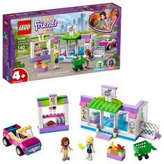 LEGO 41362 Friends Heartlake City Supermarket Grocery Store Set, Toy for 4 Year Old Girl and Boy with Buildable Toy Car Lego 4, Lego Duplo, Buy Lego, Cool Lego, Lego Batman, Lego Mario, Lego Ninjago, Lego Sets, Play Doh