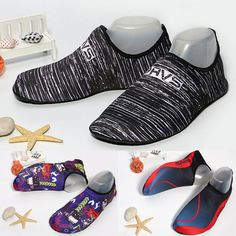 34d7b99b066d Men Women Beach Swim Shoes Quick-Dry Aqua Socks Surf Yoga Water Shoes  Aerobics