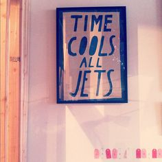 """This reminds me of my Dad who loves to say """"Cool your jets"""" and sometimes even """"Cool your jets dot com"""" haha"""