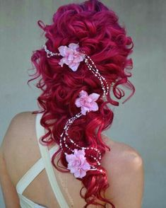 ~ COLORFUL STRANDS ~ ~ HAIR STYLING IDEAS ~