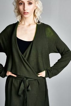 Ellan Sweater in Olivine on Emma Stine Limited