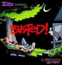 Busted,Zits Sketchbook #6 by Jim Borgman and Jerry Scott #Zits #GoComics