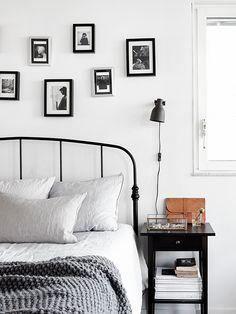 Scandinavian bedroom. styling | Josefin Hååg
