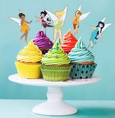 Cupcakes Fée Clochette DIY Fée Clochette DIY Cupcake