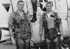 Vietnamese Navy Uniforms | Navy Pilot John McCain, right, with members of his squadron in an ...