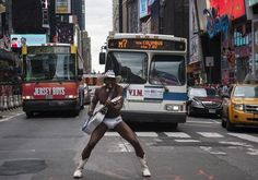 New York's Naked Cowboy Earns Handsome Living  NEW YORK – If you've ever been to New York, you've seen him: the 'Black Naked Cowboy' that is. Parading around Time Square wearing nothing else but a pair of cowboy boots, briefs and a cowboy hat, the street artist sing songs while strumming his guitar for a living.  - See more at: http://www.nodeju.com/10682/new-yorks-naked-cowboy-earns-handsome-living.html#sthash.gjsZTMCe.dpuf