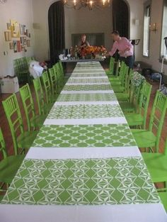 table runners.