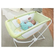 Fisher-Price® Rock N Play™ Portable Bassinet - Green : Target
