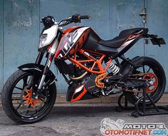 ktm duke 200 decals template - Google Search