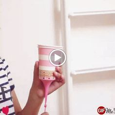 DIY paper cup Poppers. by soft time.