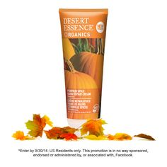 We're giving away 10 Pumpkin Spice Hand Repair Creams on our FB page! Click through to enter.