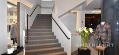 Stahltreppen mit Faltwerkstufen | MetallArt Metallbau Schmid GmbH