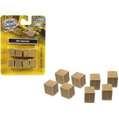 Wooden Pallets 8 piece Accessory Set 1/87 (HO) Scale by Classic Metal Works Hazardous Materials, Wooden Pallets, Ho Scale, It Works, Scale Models, Mini, Classic, Metal, Box