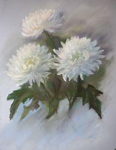 Цветы пастелью — pastels