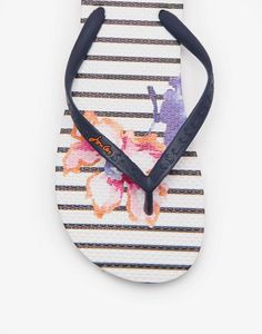 dad34f91f3a33 SANDYFlip Flops Striped Flip Flops