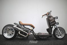 Honda Ruckus, Biker, Garage, Motorcycle, Gallery, Mini, Vehicles, Motorbikes, Drive Way